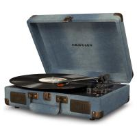 Виниловый проигрыватель CROSLEY CRUISER DELUXE [CR8005D-DE] Denim c Bluetooth