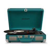 Виниловый проигрыватель CROSLEY CRUISER DELUXE [CR8005D-TL] Teal c Bluetooth