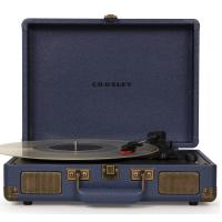 Виниловый проигрыватель CROSLEY CRUISER DELUXE [CR8005D-NV] Navy c Bluetooth