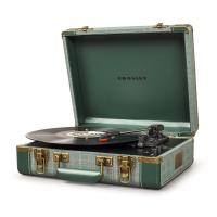 Виниловый проигрыватель CROSLEY EXECUTIVE PORTABLE [CR6019D-PNE] Pine Needle c Bluetooth